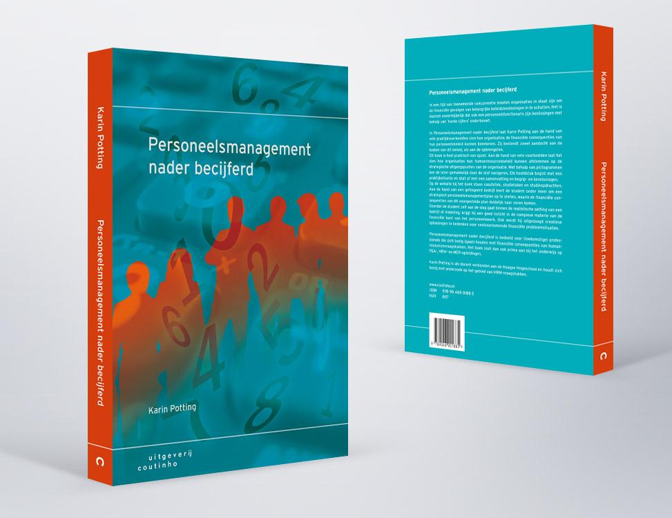 IndionDesign boekomslag Personeelsmanagement nader becijferd