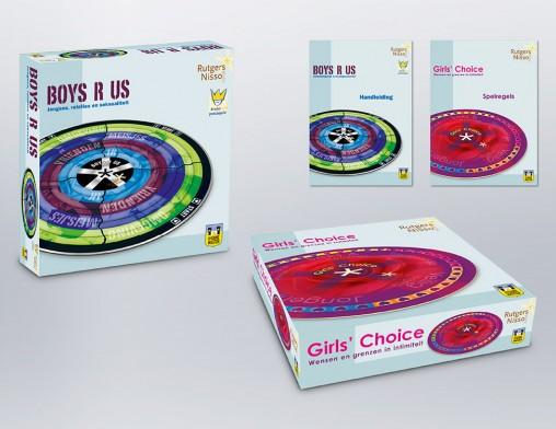 IndionDesign bordspellen Boys R Us | Girls' Choice