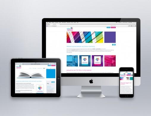 IndionDesign website Colour Harmony