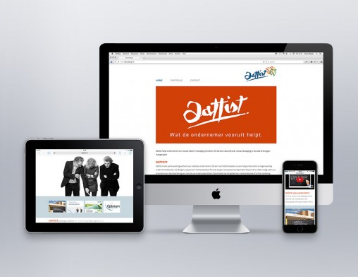 IndionDesign website Dattist