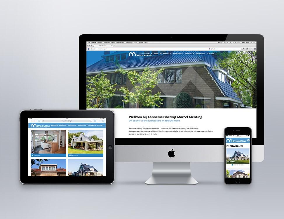 IndionDesign website Marcel Menting